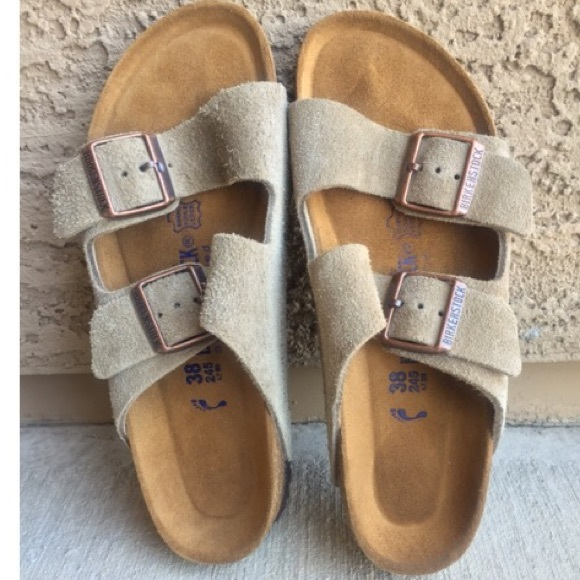 faa7cd52c 🆕Birkenstock  Arizona  Soft Footbed Suede Sandal