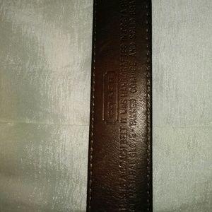 Coach belt