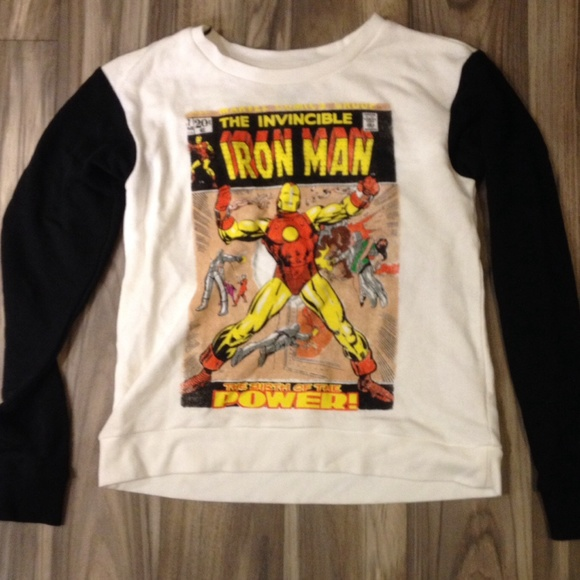 Iron Man Sweater Forever 21 27
