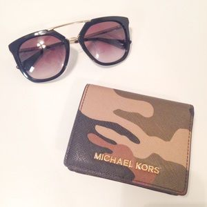 Michael Kors Clutches & Wallets - Michael Kors Camo Wallet