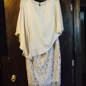 2 Piece Elegant Dress Set