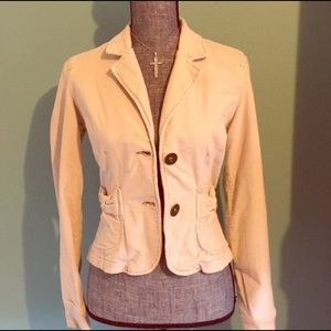 Plugg Jeans Jackets & Coats - Plugg Jeans Beige Corduroy Blazer Jacket Medium