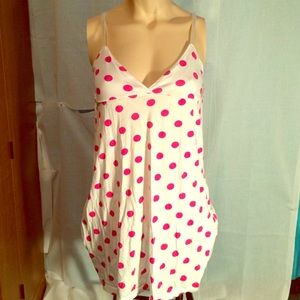FINAL PRICE  Pink polka dot dress