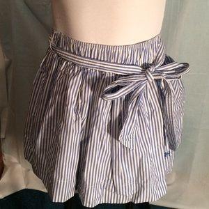Gilly Hicks Dresses & Skirts - 🌟FINAL PRICE 🌟 Navy stripe skirt