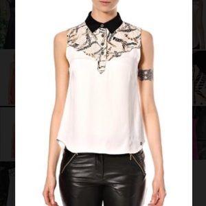 Numph Tops - NWT Numph Sleeveless High/Low Bertil Shirt S- 34/4