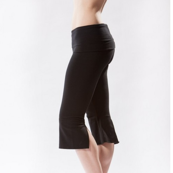 Hard Tail Roll Down V Slit Yoga