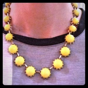 J.Crew yellow adjustable beautiful necklace
