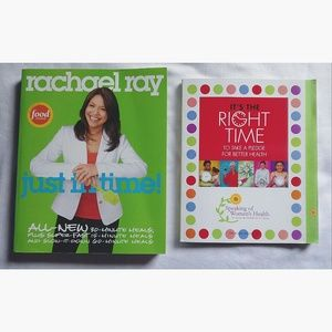 Rachael Ray Other - NWT Bundle of 2 Healthy Rachael Ray Cookbooks