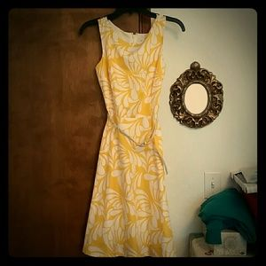 Banana Republic Factory Store Dresses & Skirts - 60s Inspired Tea-Length Summer Dress