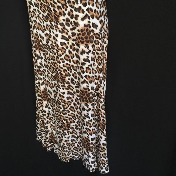 cheetah print maxi skirt 1x from mariko s closet on poshmark