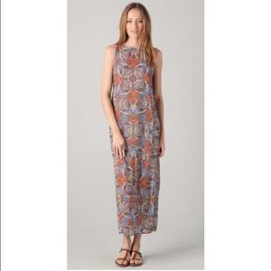 Clover Canyon stained Glass Maxi Dress
