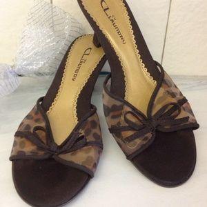 Chinese Laundry Shoes - Chinese Laundry Mesh Animal Print Slide Sandal