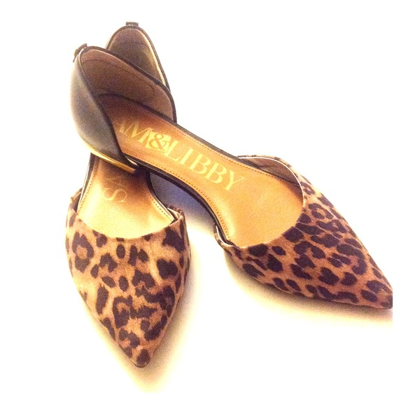 Sam and Libby Shoes | Leopard Pointed