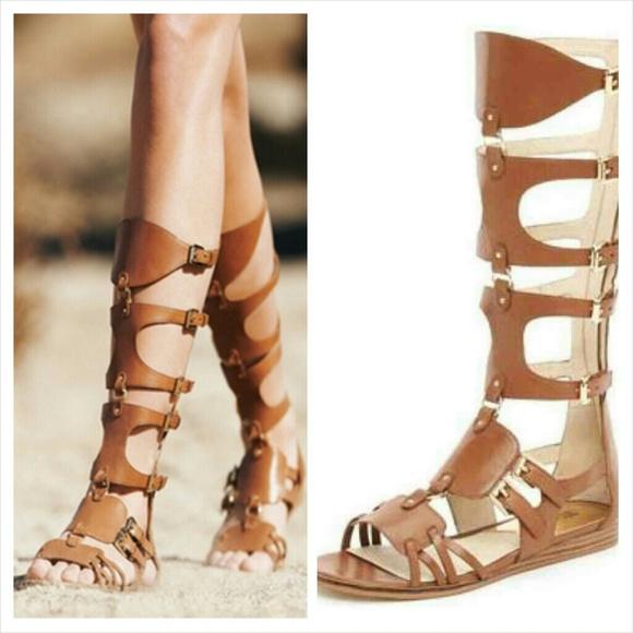 8a9c8b25517 python gladiator sandals michael kors fulton wristlet - Marwood ...
