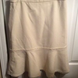 J Crew trumpet skirt