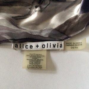 Alice + Olivia Accessories - Alice + Olivia silk/rayon summer scarf💜