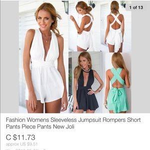 Women's Summer Romper 3 Colors Sizes SML