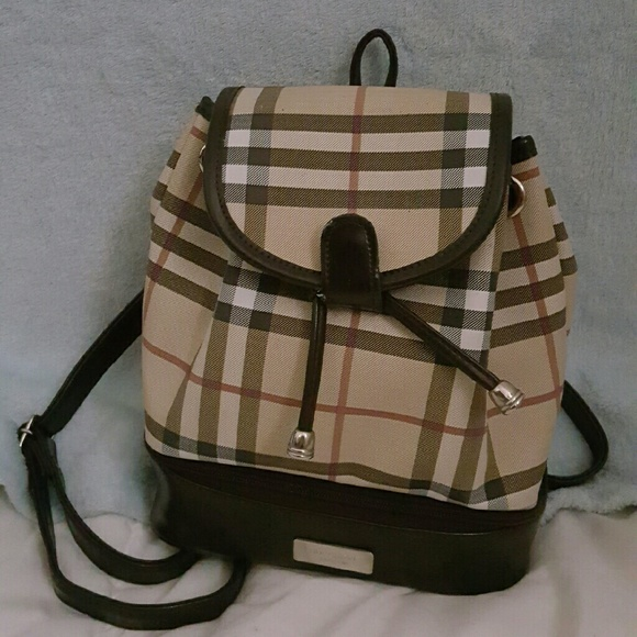 0509a2a530d7 Burberry Handbags - Burberry print mini backpack