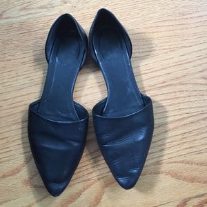 Vince Shoes - Vince D'orsay flats in black