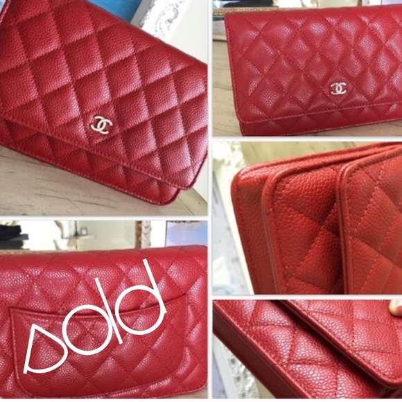 f52954f3 ❤️Authentic Rare Chanel WOC Red❤️ NWT