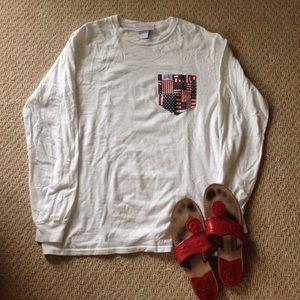 Fraternity collection Americana pocket t