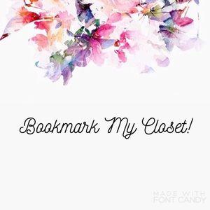 Other -   Bookmark My Closet!  