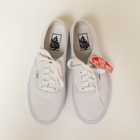 Vans Shoes White Classics Lace Up Poshmark