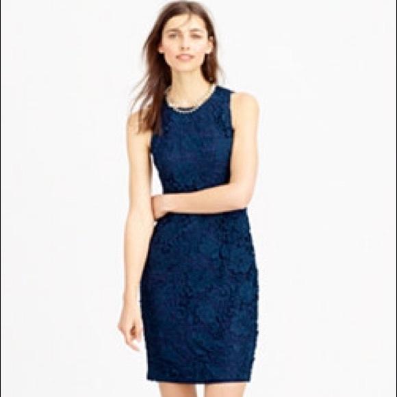 Lace sheath dress sleeveless