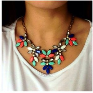 ❗️JUST IN❗️ Neon Multicolor Statement Necklace
