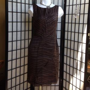 Cynthia howie Dresses & Skirts - Light and dark brown tank dress