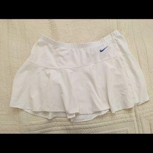 Nike dry fit tennis skirt