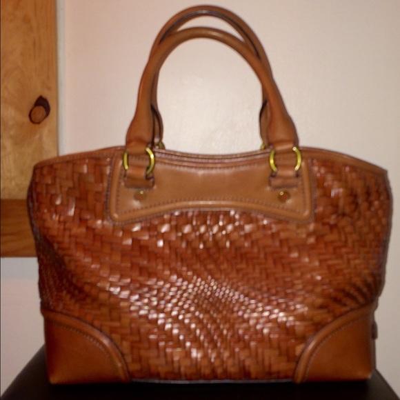 07f5052b815 Cole Haan Handbags - Cole haan woven bag