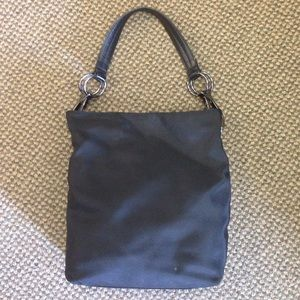 JPK Black Nylon Purse