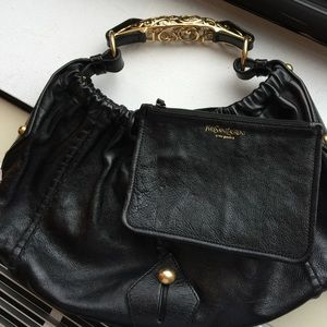Handbags - YSL LEATHER handbag + gucci beltbag