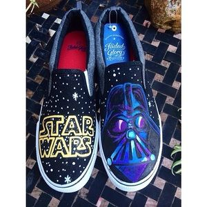 a9d8cdb0f6a612 Shoes - 🌟HP🌟STAR WARS - hand painted⭐ 🌟✨