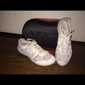 how to clean nfinity vengeance cheer shoes