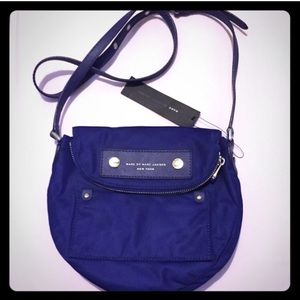 "NWT! Marc Jacobs"" Blue Crossbody!"