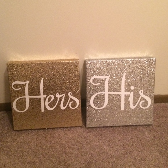 Free People - LAST CHANCE His and Hers Sparkly wall decor from ...