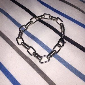 "Men's Sterling Silver 9"" Bracelet"