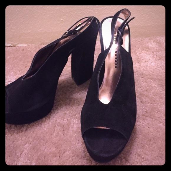 87 laundry shoes laundry black