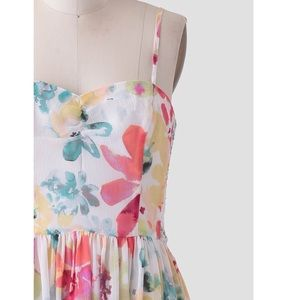 NWT Watercolor Dress