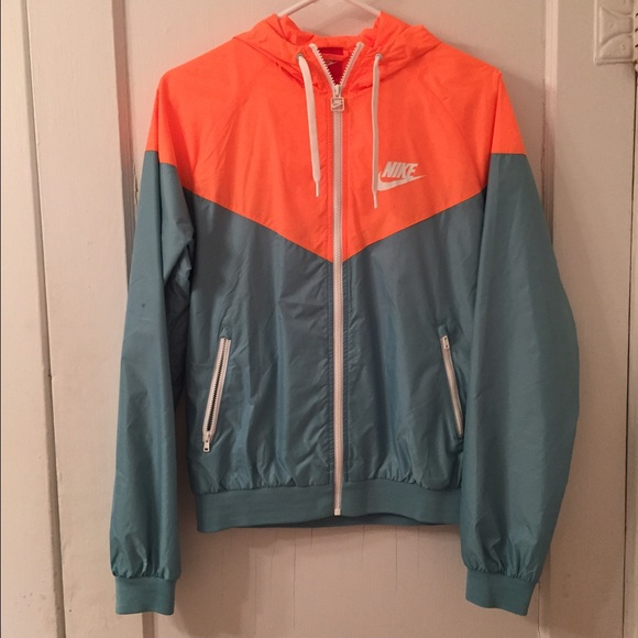 32c208da21 Orange and Teal Green Nike Windrunner. M 55838fdabf441c6ac0001fb6