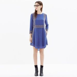 Madewell Silk Patterned Dress