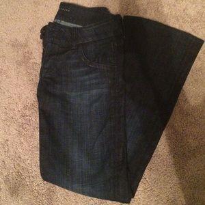 HUDSON boot cut dark jeans