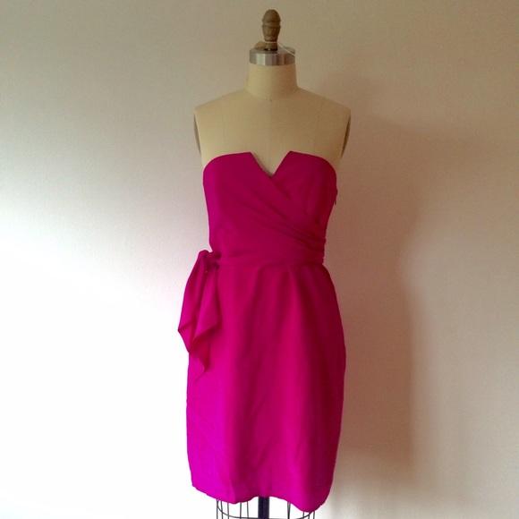 Coast Dresses & Skirts | Hot Pink Cocktail Dress | Poshmark