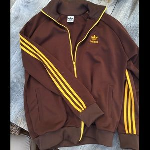 Men's VINTAGE ADIDAS sweat-shirt track jacket