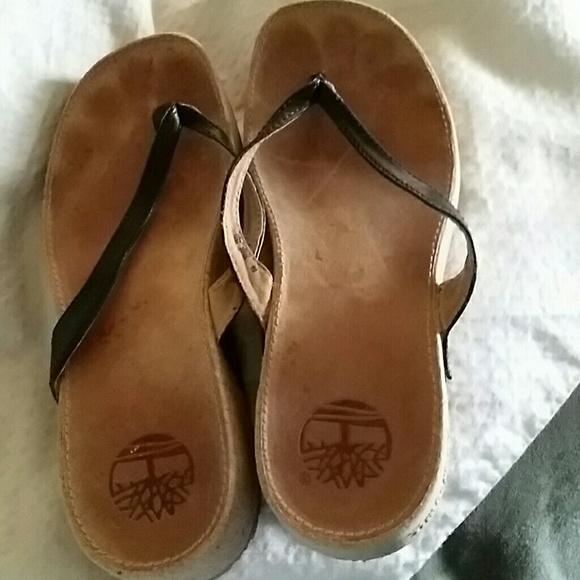 78 Off Timberland Shoes - Timberland Womens Flip Flops 8 From Pams Closet On Poshmark-2043
