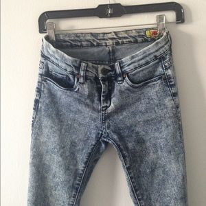 Blank Denim NYC Acid Wash Jeans 24