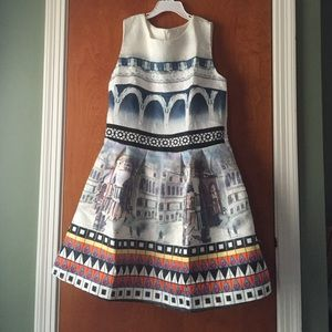 A line summer dress size large never worn