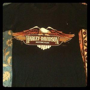 Vintage Harley Davidson Bikers Tee